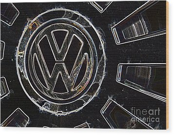 VW3 Wood Print by Wendy Wilton