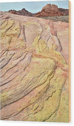 Wood Print featuring the photograph Veins Of Gold In Valley Of Fire by Ray Mathis