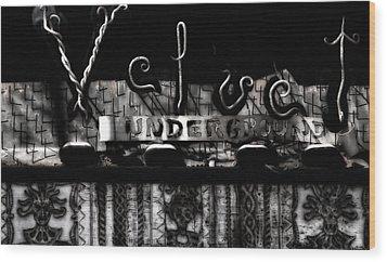 Velvet Underground Wood Print