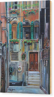 Venetian Colors Wood Print
