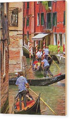 Venetian Red Wood Print by Jeff Kolker