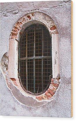 Venetian Window Wood Print