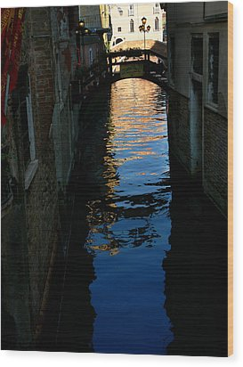 Venice-12 Wood Print by Valeriy Mavlo