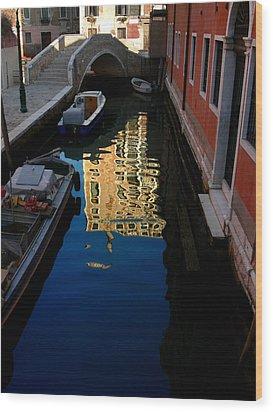 Venice-13 Wood Print by Valeriy Mavlo