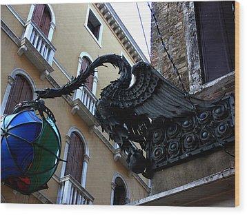 Venice-15 Wood Print by Valeriy Mavlo