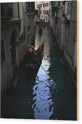 Venice-3 Wood Print by Valeriy Mavlo