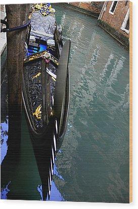Venice-5 Wood Print by Valeriy Mavlo