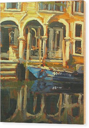 Venice Wood Print by Brian Simons