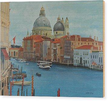 Venice Grand Canal I Wood Print