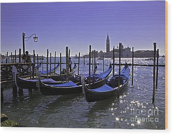 Venice Is A Magical Place Wood Print by Madeline Ellis