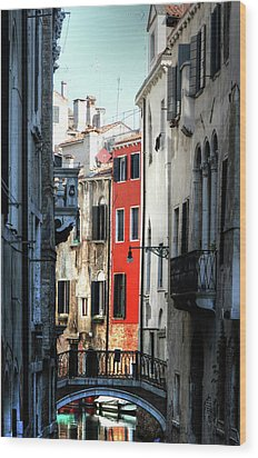 Wood Print featuring the photograph Venice Xx by Tom Prendergast