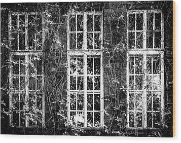Vent Wood Print by Matti Ollikainen