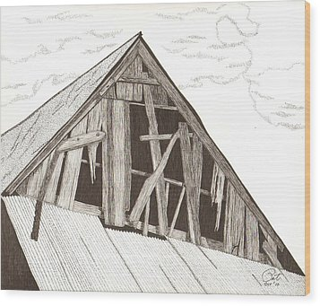 Ventilated Wood Print by Pat Price