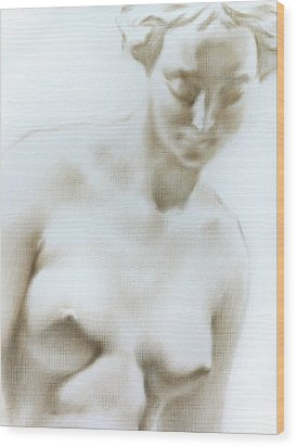 Wood Print featuring the painting Venus 1d by Valeriy Mavlo