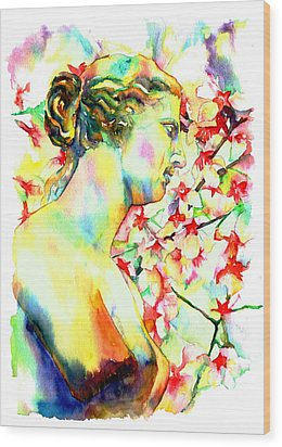 Venus De Milo Wood Print by Christy  Freeman