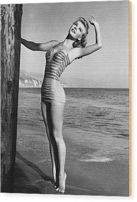 Vera-ellen, Ca. 1940s Wood Print by Everett