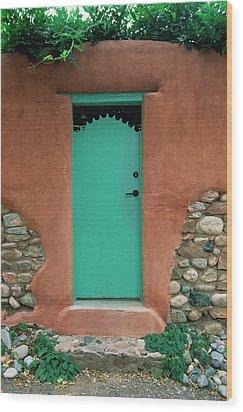 Verde Way Wood Print