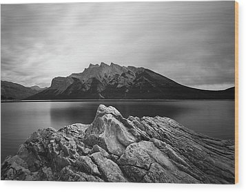 Vermilion Lake Wood Print