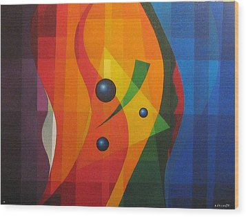 Vernal Composition Wood Print by Alberto DAssumpcao