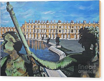 Versailles Palace Wood Print
