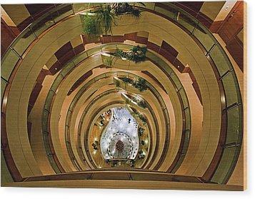 Wood Print featuring the photograph Vertigo by Ron Dubin
