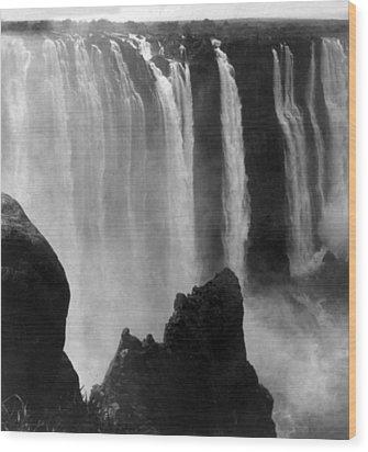 Victoria Falls - C 1911 Wood Print