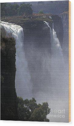 Victoria Falls - Zimbabwe Wood Print by Craig Lovell
