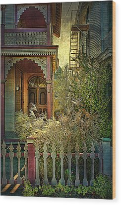 Wood Print featuring the photograph Victorian Charm by John Rivera