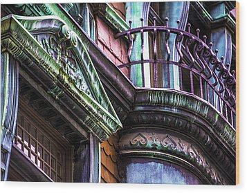 Victorian On Rush V2 Wood Print by Raymond Kunst