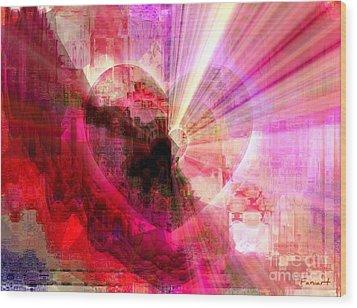 Victorious Heart Wood Print by Fania Simon
