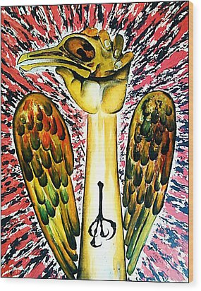 Victory Of Perseverance Wood Print by Paulo Zerbato