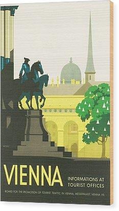 Vienna Wood Print by Georgia Fowler