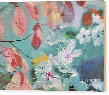 Viento De Primavera Wood Print by Alfonso Garcia