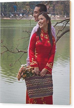 Vietnam Wedding Wood Print