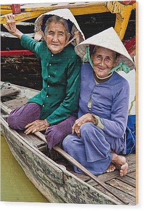 Vietnamese Women Wood Print