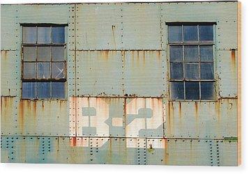 View B-2 Wood Print