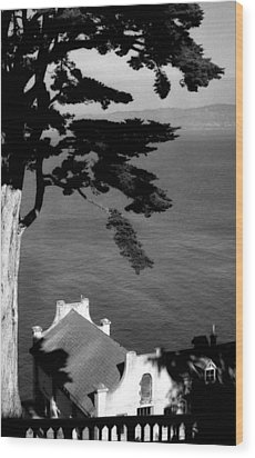 View From Alcatraz Wood Print by Todd Fox