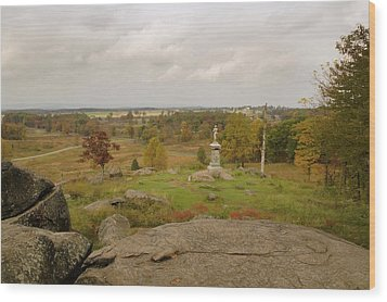 View From Little Round Top 2 Wood Print