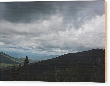 View From Mount Washington  Wood Print by Suzanne Gaff