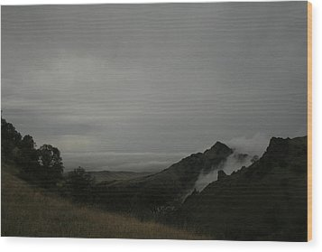 View From Sutter Buttes Wood Print