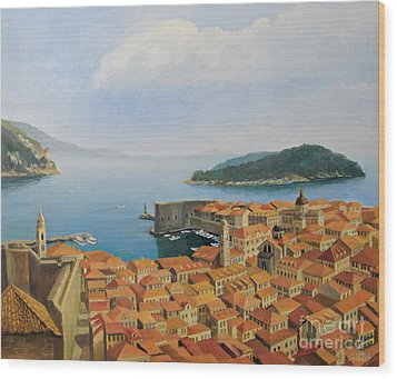 View From Top Of The World Wood Print by Kiril Stanchev