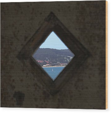 View Of Freedom Wood Print by Ty Helbach