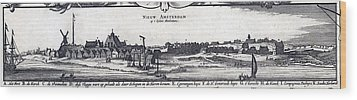 View Of New York City, Then  New Wood Print by Everett