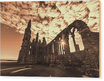 Wood Print featuring the photograph View To A Thrill by Anthony Baatz