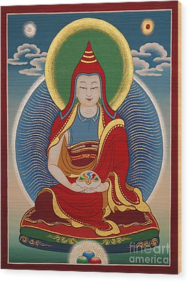 Vimalamitra Vidyadhara Wood Print
