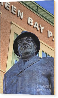 Vince Lombardi Wood Print by Joel Witmeyer