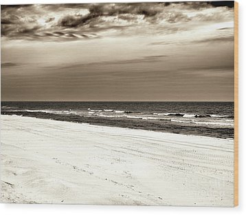 Wood Print featuring the photograph Vintage Beach Haven by John Rizzuto