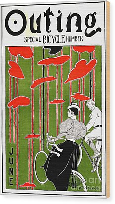 Wood Print featuring the photograph Vintage Bicycle Issue 1896 by Padre Art