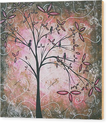 Vintage Couture By Madart Wood Print by Megan Duncanson