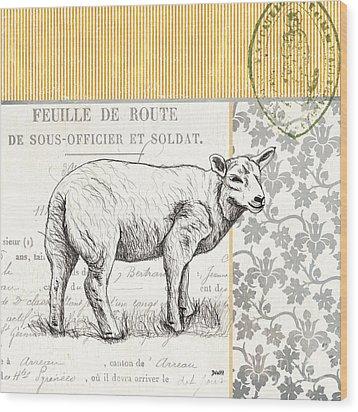 Vintage Farm 3 Wood Print